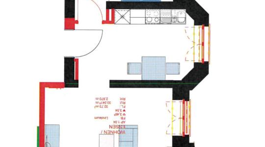Grundriss Apartment 1.04